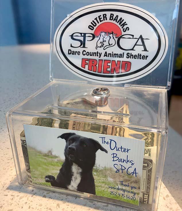 OBXSPCA Donation Box