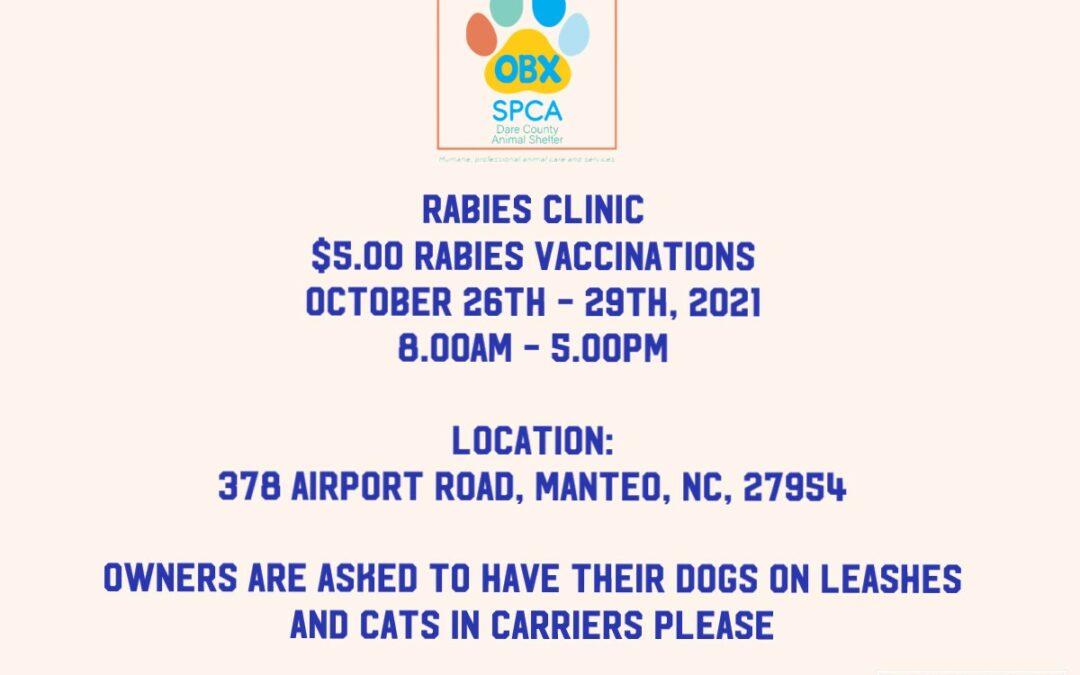 Rabies Clinic!